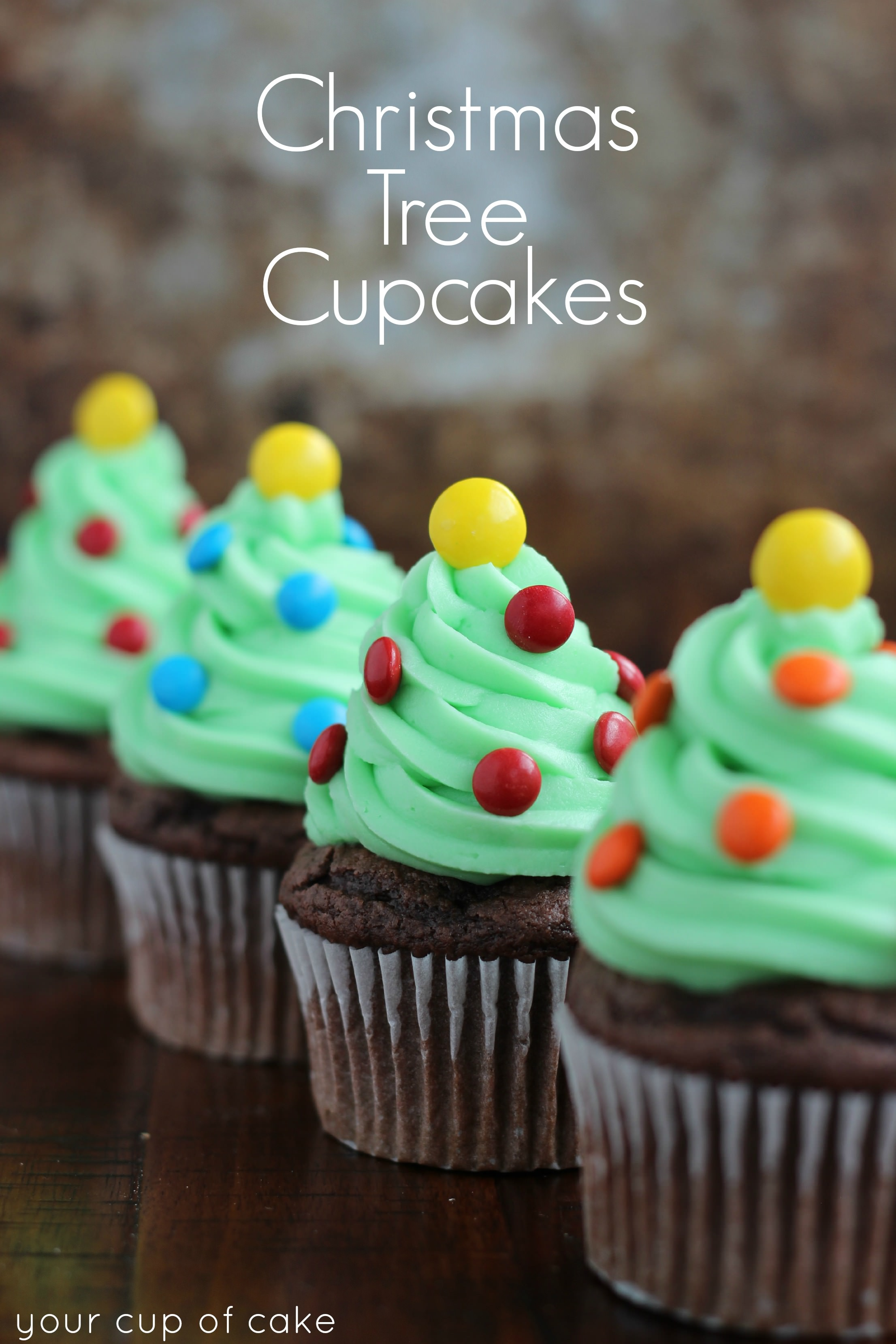 Easy Cupcake Decorating for Christmas  Your Cup of Cake