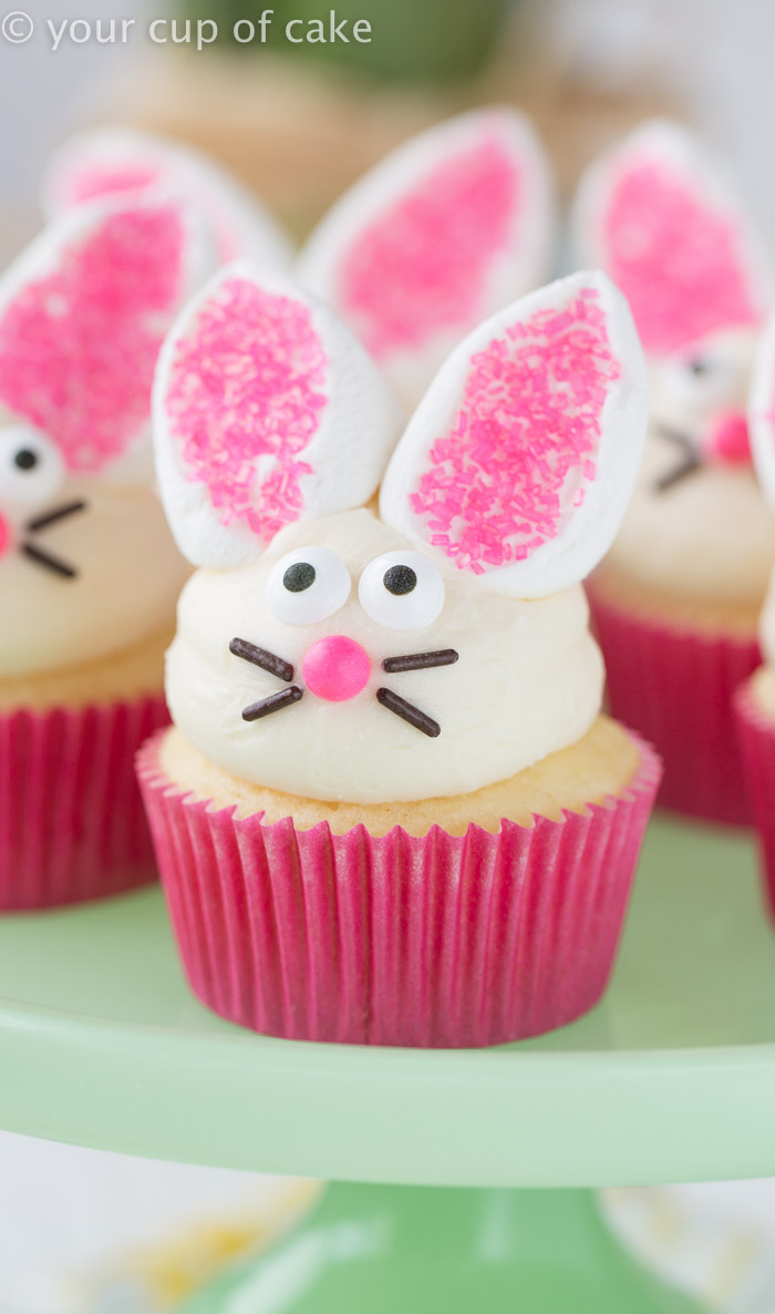 Easy Easter Cupcake Decorating and Decor  Your Cup of Cake