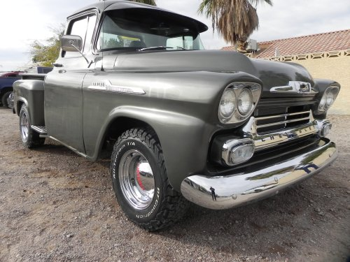 small resolution of 1950 s classic chevy truck restoration