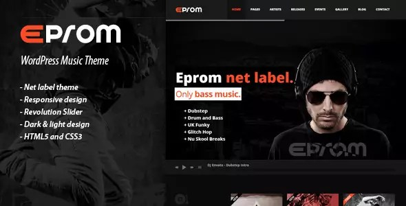 EPROM WordPress Theme