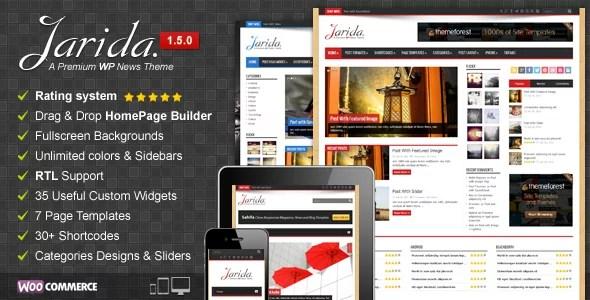 Jarida WordPress Theme