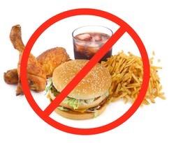 Image result for bad foods images