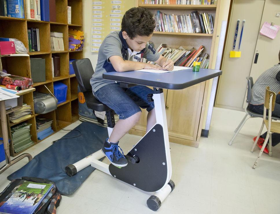 La Bici Banco per gli Studenti Iperattivi ADHD