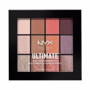 palette eyeshadow Nyx ultimate multi finish sugar high