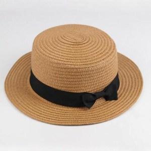 capeline femme chapeau paille