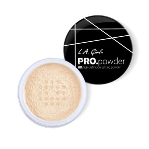 poudre de finition setting powder LA girl
