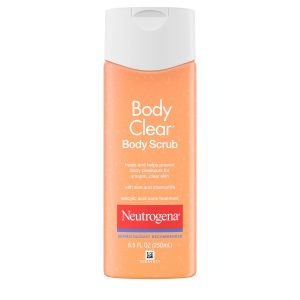 gommage corps neutrogena body clear