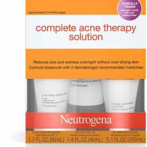 soin complet anti acné therapie neutrogena