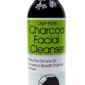 nettoyant visage au charbon deep pore