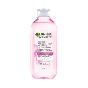 eau micellaire démaquillante eau de rose garnier