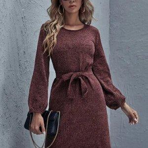 robe pull femme avec ceinture