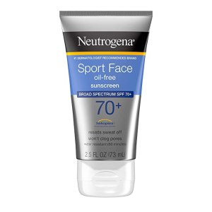 crème solaire sport face neutrogena SPF 70+
