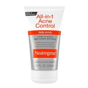 gommage anti acné neutrogena