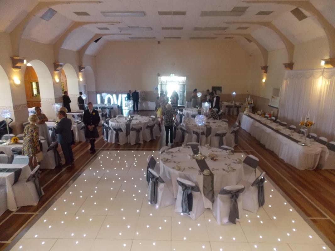 chair cover hire dunfermline dining room captain chairs table enchanted events