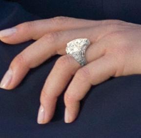 Charlene Wittstock's Engagement Ring Engagement 101