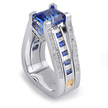 Colorful Innovative Engagement Rings Engagement 101