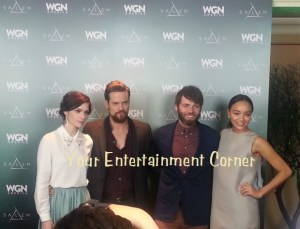 L-R: Janet Montgomery, Shane West, Seth Gabel, and Ashley Madekwe