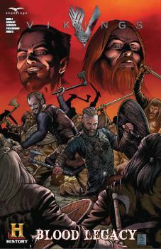 Vikings - Comic Book Cover