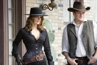 Beckett and Castle have their hands full in the wild wild dude ranch