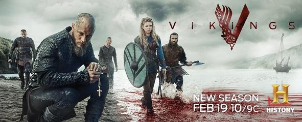 Vikings S2 Key Art banner