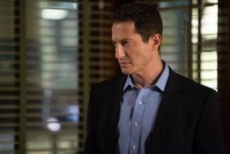 """Tribunal"" Episode 410 -- Pictured: Sasha Roiz as Captain Renard -- (Photo by: Scott Green/NBC)"