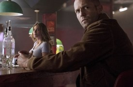 DD (Sofía Vergara) and Nick Wild (Jason Statham) in WILD CARD.