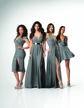 (L to R)  Judy Reyes, Roselyn Sanchez, Ana Ortiz and Dania Ramirez star in season three of Lifetime's drama Devious Maids, premiering Monday, June 1, at 9pm ET/PT on Lifetime. Photo by Stuart Pettican