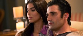 Roselyn Sánchez and Gilles Marini in Lifetime's hit series, Devious Maids