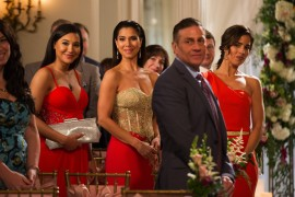 (L-R) Roselyn Sanchez and Ana Ortiz star in Lifetime's hit series Devious Maids on Lifetime. Photo by Bob Mahoney