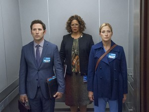 Gloria is definitely not happy with the outcome of her meeting with Jackie and Barry.