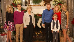 """CHRISLEY KNOWS BEST -- """"A Very Chrisley Christmas"""" --Pictured: (l-r) Lindsie Chrisley Campbell, Chase Chrisley, Faye Chrisley, Todd Chrisley, Grayson Chrisley, Julie Chrisley, Savannah Chrisley -- (Photo by: USA Network)"""