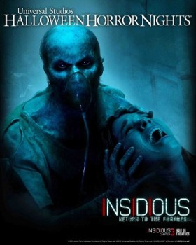 "UNIVERSAL STUDIOS HOLLYWOOD - THEME PARKS -- Pictured: ""Insidious: Return to the Further"" Key Art -- (Photo by: Universal Studios Hollywood)"