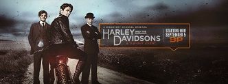 Harley and the Davidsons key art banner