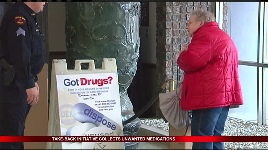 Drug drop off initiative underway this weekend_23562497-159532