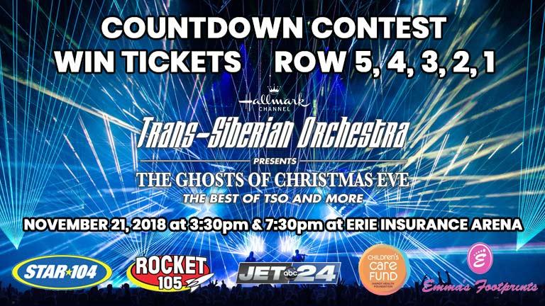 Trans-Siberian Orchestra Countdown Contest