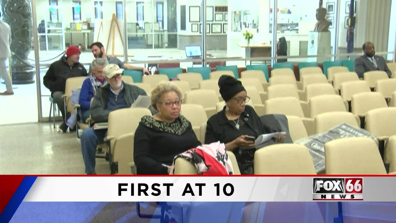 Coming up on Fox 66 News First at 10 04/03/19