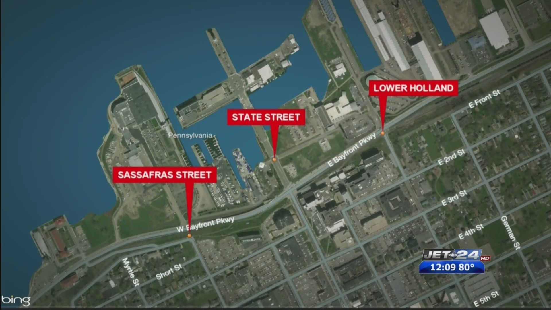 Upcoming road closures for Erie's Tall Ships Festival | WJET