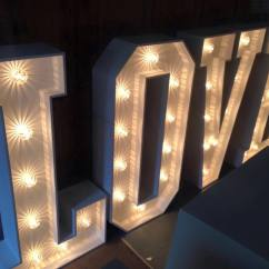 Chair Covers For Hire Parties Single Bed Sleeper Giant Love | Hertfordshire Events Weddings, Dj, Audio & Pa Hire, Lighting, Photobooth, Stage
