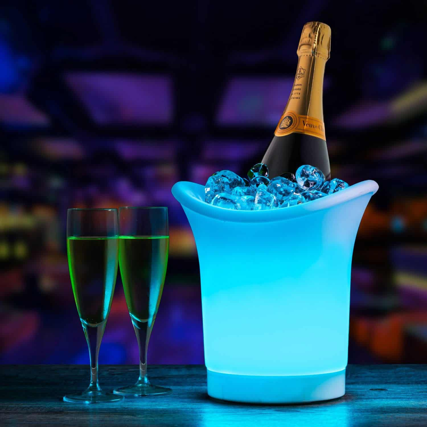 chair covers for hire parties teal bean bag led ice bucket | hertfordshire events weddings, dj, audio & pa hire, lighting, photobooth, stage