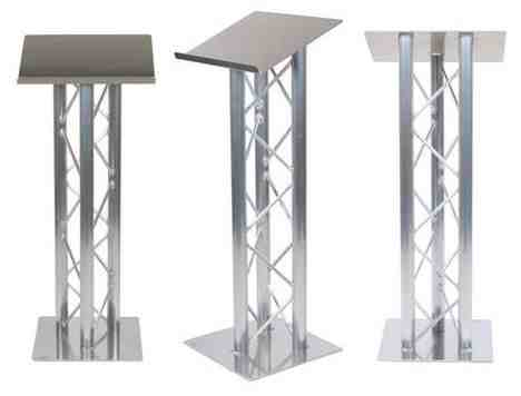 chair with speakers gaming best beach ever truss lectern podium | hertfordshire events weddings, dj, audio & pa hire, lighting ...
