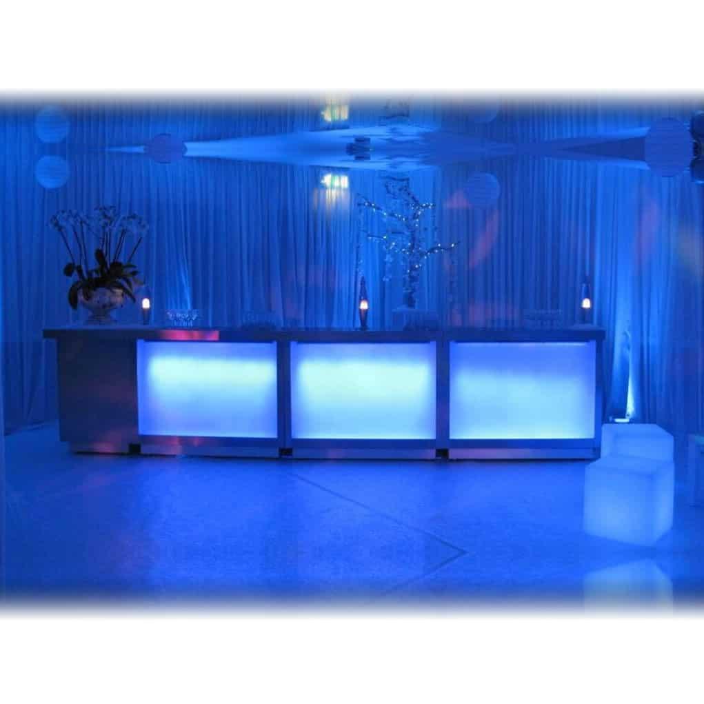 LED Bar  Hertfordshire Events  Weddings DJ Audio  PA