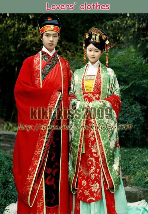 Kiki kiss Traditional chinese kimonos oriental fantasy
