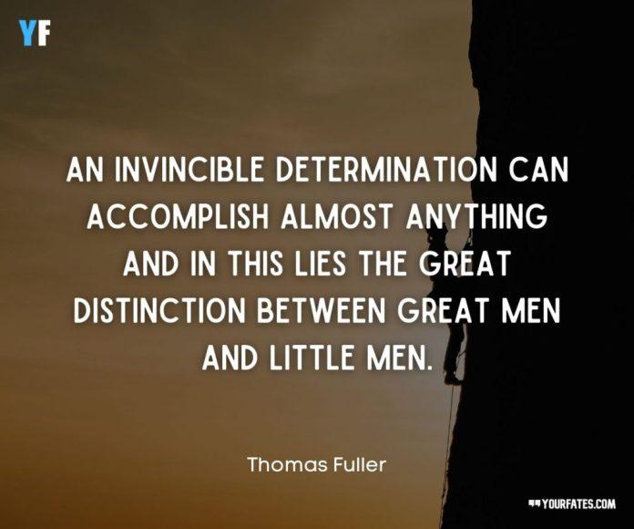 focus and determination quotes
