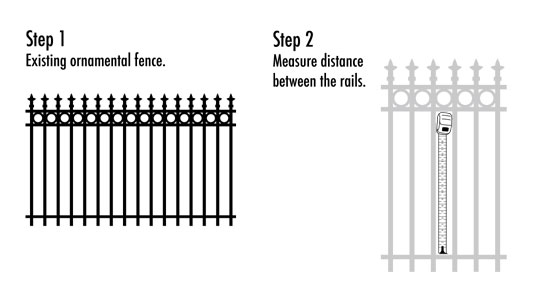 OP Panel for Aluminum Fence: Privacy Aluminum Fence
