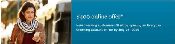 Wells Fargo $400 Bank Account Bonus