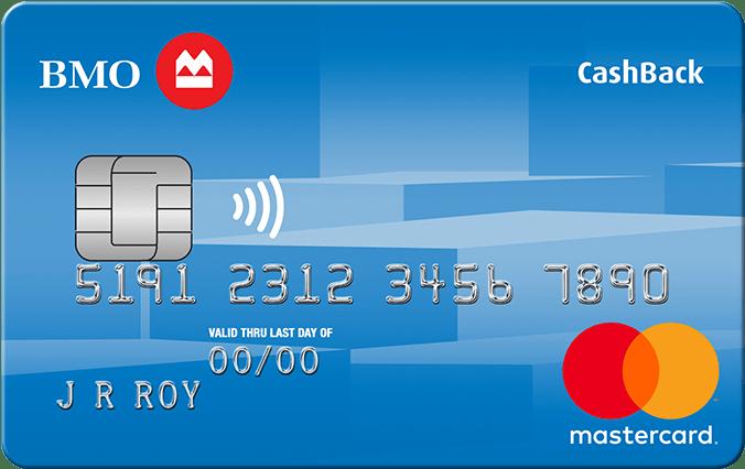BMO CashBack® Mastercard®* for Students-Product Image