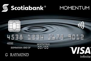 Scotia Momentum® VISA Infinite* Card-Product Image