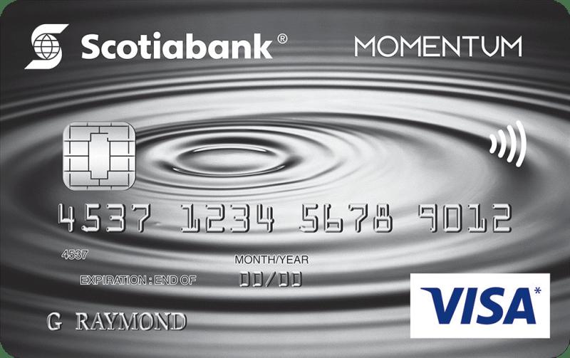 Scotia Momentum® No-Fee VISA* Card-Product Image