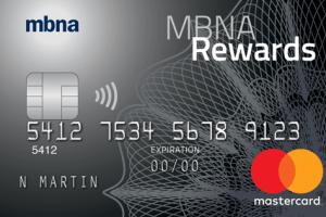 MBNA Rewards Platinum Plus® Mastercard®-Product Image