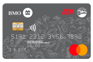 BMO IGA AIR MILES®† Mastercard®*-Product Image